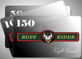 Ruff Rider Gift Cards available