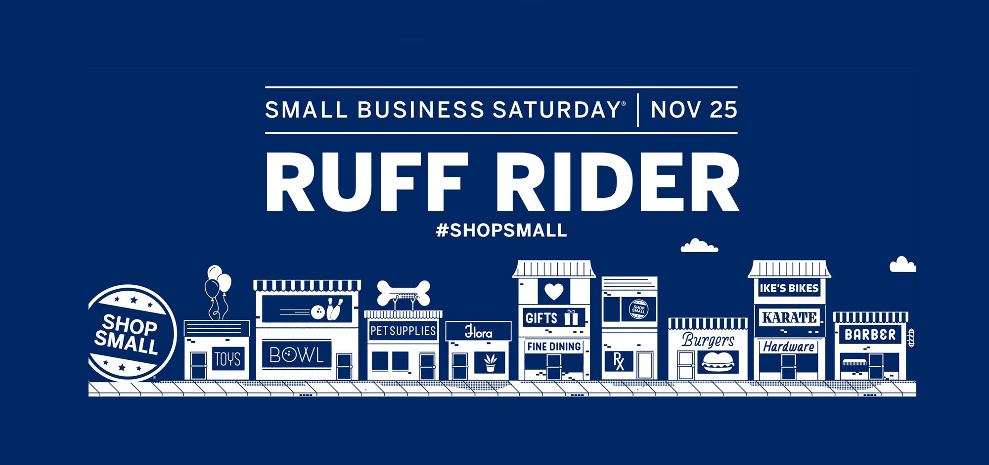 Shop Small with Ruff Rider