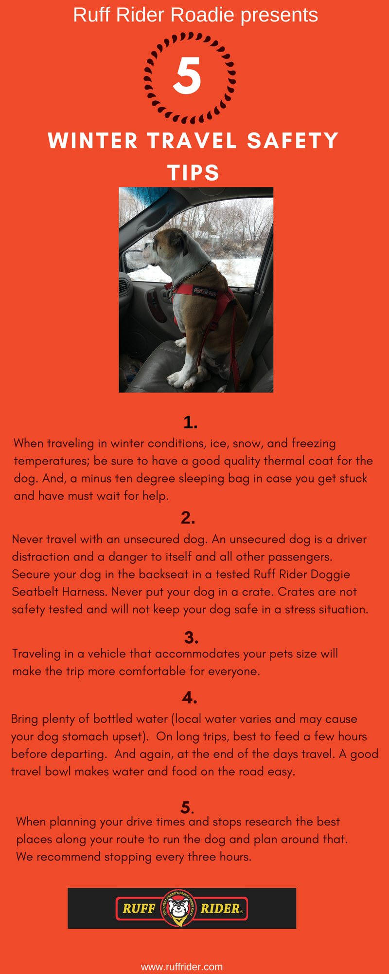 Ruff Rider - Winter Travel Driving Tips