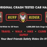 The Ruff Rider Canine Vehicle Safety Harness